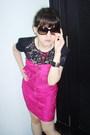 Pink-forever21-dress-black-mango-top-pink-dorothy-perkins-necklace-black-r