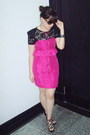 Pink-forever21-dress-black-mango-top-pink-dorothy-perkins-necklace-black-r