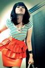 Green-zara-top-orange-river-island-skirt-white-random-brand-shoes-forever2