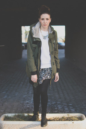 forest green New Yorker jacket