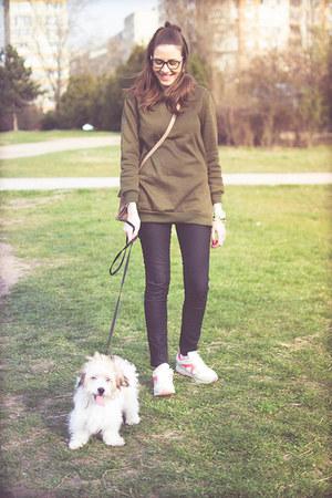 olive green rosewe hoodie