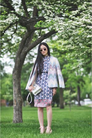 vintage jacket - acne dress