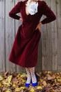 Jo-mercer-heels-vintage-ebay-dress-portmans-tights