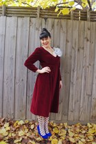 Jo Mercer heels - vintage eBay dress - portmans tights