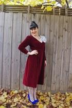 Jo Mercer heels - vintage eBay dress - portmans tights