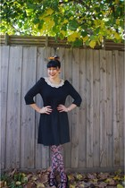 Sportsgirl tights - Dangerifled dress - Melissa heels