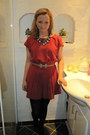 Black-asos-tights-berry-red-topshop-romper-river-island-necklace