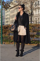 H&M shorts - Zara shoes - H&M sweater - Ebay bag - vintage cape