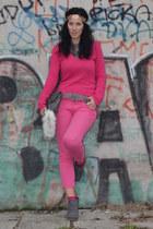 benetton sweater - Zara pants