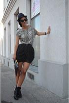 wwwfeliceecom skirt - asos boots - wwwfeliceecom shirt - H&M necklace
