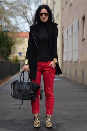 Bershka pants - H&M vest