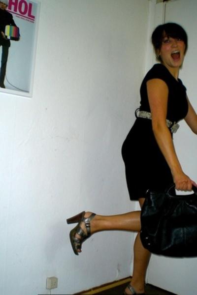H&M dress - Parentesi purse - Michael Kors shoes - vintage belt