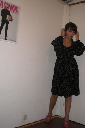 H&M dress - Vintage Jil Sander shoes