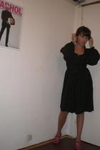 H&M dress - Vintage Jil Sander shoes