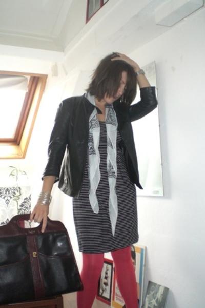 H&M dress - aa panties - Nannini shoes - Vintage Pierre Cardin purse