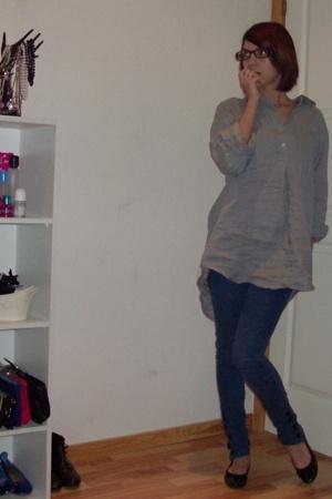 Tiger glasses - H&M shirt - pieces leggings - H&M shoes