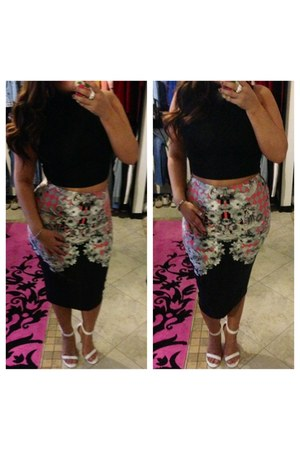 bubble gum skirt asos skirt