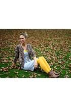 brown corso como boots - silver Gap dress