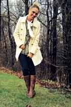 ivory Express coat