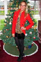 ruby red Express blazer