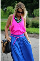 blue BCBG skirt