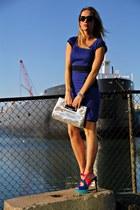 hot pink Jessica Simpson heels