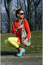 sky blue Jessica Simpson heels