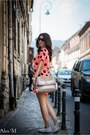 Axparis-dress-aldo-bag-melimelo-sunglasses-michael-kors-watch-aldo-flats