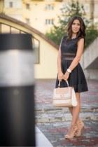 Sheinside dress - Aldo bag - Michael Kors watch