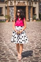 Zara shirt - Choies skirt