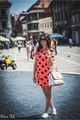 Axparis-dress-aldo-bag-melimelo-sunglasses-michael-kors-watch-aldo-flats