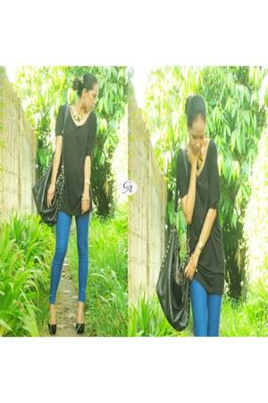 black Celine heels - heels