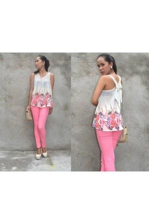 pastel Aashta page blouse