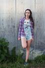 Maroon-guess-shirt-blue-overalls-spell-designs-romper