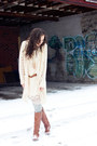Tawny-riding-call-it-spring-boots-neutral-chiffon-shift-unknown-dress
