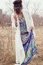 Sky-blue-boho-spell-designs-dress-light-brown-fringed-target-purse