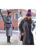 brick red Zara boots