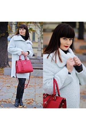silver JASS coat