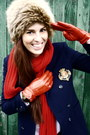 Vintage-hugo-boss-blazer-vintage-fur-hat-hat-zara-pants-mango-gloves-h-m