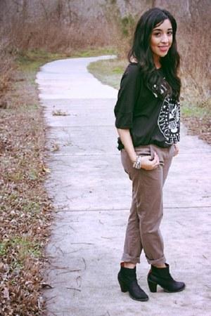H&M pants - Target boots - H&M top