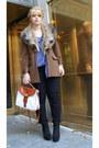 Black-gloria-vaderbilt-jeans-tawny-camel-wool-tristant-jacket