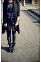 black BCBGMAXAZRIA sweater