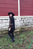 black Lush cardigan