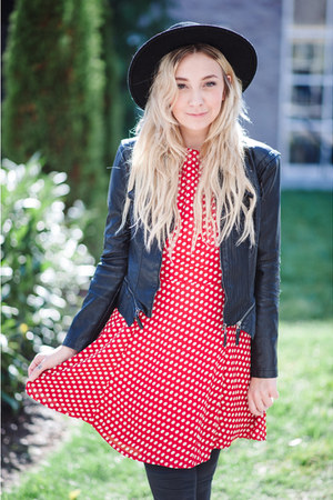 red Sugarhill dress