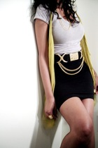 t-shirt - vest - dress - belt