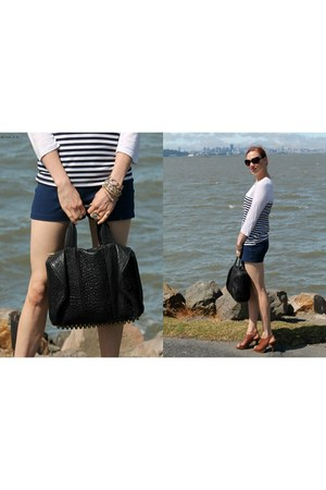 FashionElles shirt - Alexander Wang bag - Zara shorts
