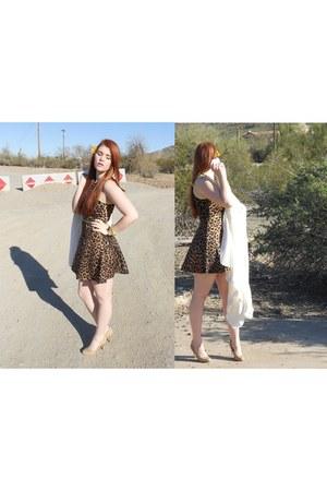 leopard Charlotte Russe dress