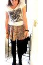 Black-h-m-bracelet-white-topshop-t-shirt-topshop-skirt-black-primark-boots