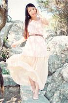 eggshell Zara skirt