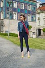 Blue-denim-diesel-jacket-ruby-red-lacoste-bag-white-only-blouse